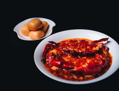 Singapore Style Chili Crab/辣椒螃蟹/シンガポールの人氣料理ワタリガニのチリソース