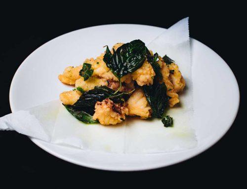 Deep Fried Cuttlefish/鹽酥花枝/生イカの台灣風天ぷら