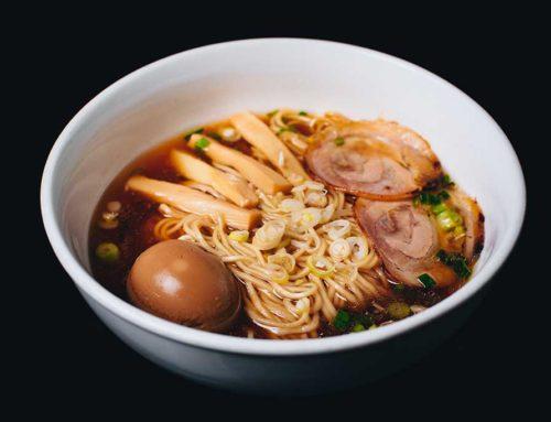 Soya Sauce Soup Noodle/台湾阳春麵    /  正油ラーメン(or 日式醬油拉麵)