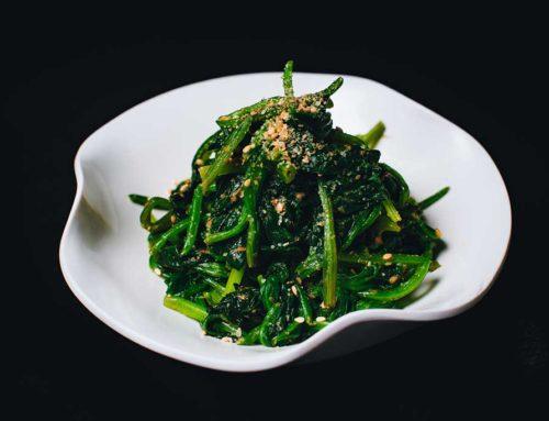 Spinach with Sesame/芝麻菠菜/ほうれん草の胡麻あえ