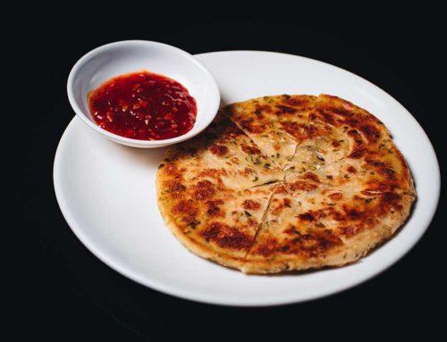 Spring Onion pancake/蔥油餅/台灣式ねぎピザ